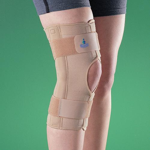 【福健佳健康生活館】OPPO醫用前開式鋼條護膝 2037