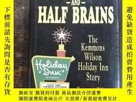 二手書博民逛書店英文原版:Half罕見Luck and Half Brains: