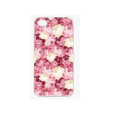 ♥ 俏魔女美人館 ♥ {玫瑰花叢*水晶硬殼} Iphone 4 / 4S 手機殼 手機套 保護殼 保護套