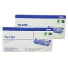 【超值組合 二支組】Brother TN-2360 BK 黑 原廠碳粉匣 HL-L2320D DCP-L2540DW MFC-L2700D等
