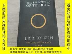 二手書博民逛書店THE罕見FELLOWSHIP OF THE RING:戒指的聯