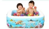 折疊充氣兒童游泳池家用池嬰兒洗澡玩具大號小孩室內加厚戲水YYP 蓓娜衣都