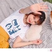 《AB15235-》高含棉萌系狗狗動物T恤/上衣 OB嚴選