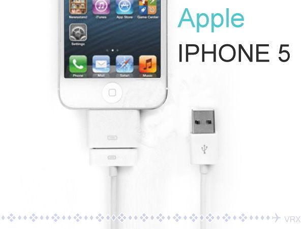 【GF379】iPad Mini iPod touch iPhone 5 USB充電線8pin轉30pin轉接頭/傳輸線★EZGO商城★