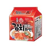 韓國不倒翁 泡菜拉麵(5入裝)【小三美日】