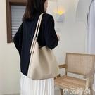 韓版大包包女2020新款潮夏季時尚簡約托特包洋氣百搭質感托特包【小艾新品】