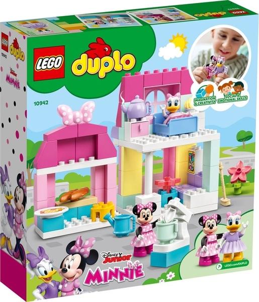 【愛吾兒】LEGO 樂高 duplo得寶系列 10942 米妮的家與咖啡廳