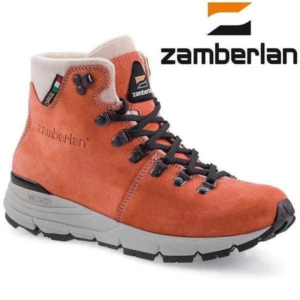 『VENUM旗艦店』Zamberlan 325 CORNELL LITE GTX 輕量中筒健行鞋 女款 粉橘色 0325PW0G-RE
