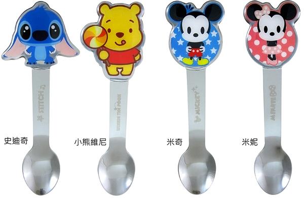【卡漫城】 兒童 湯匙 任選2支 ㊣版 米奇 米妮 小熊維尼 史迪奇 Mickey Minnie Pooh 不鏽鋼 Stitch