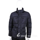 GUCCI 深藍色口袋設計羽絨外套 1510623-34