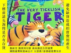 二手書博民逛書店The罕見Very Ticklish Tiger (精裝本 18開 )Y246081 Tickle, Jack