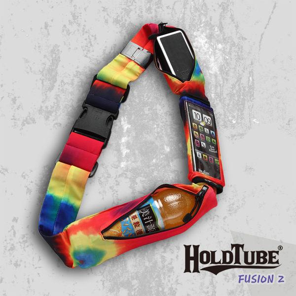 【HOLDTUBE】運動腰帶-三口袋(可拆手機袋)-燭光舞會
