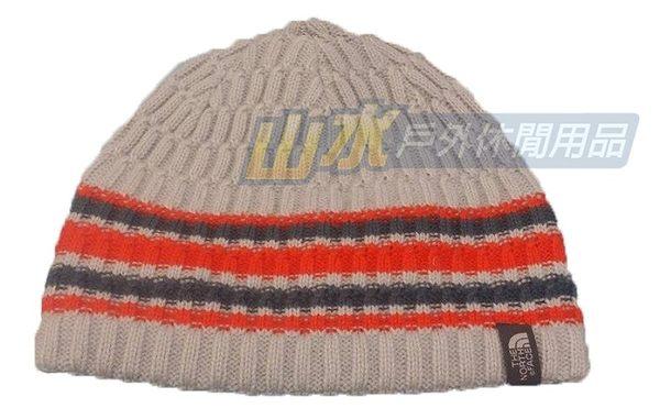 【山水網路商城】The North Face TNF 編織保暖帽 保暖帽/毛線帽/休閒帽/編織帽/刷毛帽 A6V7 灰白