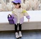 童裝 女童網紅連帽外套款2021春裝新款外穿童裝小兒童洋氣夾克(新品上架)