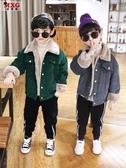 兒童外套 米西果兒童燈芯絨外套加絨加厚秋冬韓版中大童洋氣潮男童 快速出貨