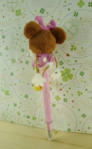 【震撼精品百貨】Micky Mouse_米奇/米妮 ~原子筆-米妮粉緞帶