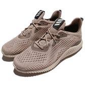 adidas 慢跑鞋 AlphaBounce EM M 咖啡 卡其 舒適緩震 男鞋 運動鞋【PUMP306】 BB9041