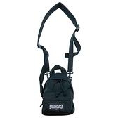 【台中米蘭站】全新品 Balenciaga 黑布標Mini帆布斜背吊掛包(656060-黑)