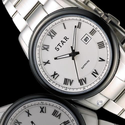 STAR 時代 時尚摩登仕女腕錶 1T1512-111S-W