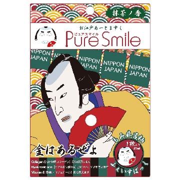 【Pure Smile】 日本江戶面膜 武士 1枚入