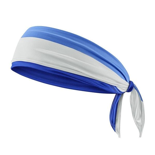 Nike Cooling Bandana [N1000510958OS] 涼感 頭巾 路跑 運動 登山 吸濕 排汗 藍灰