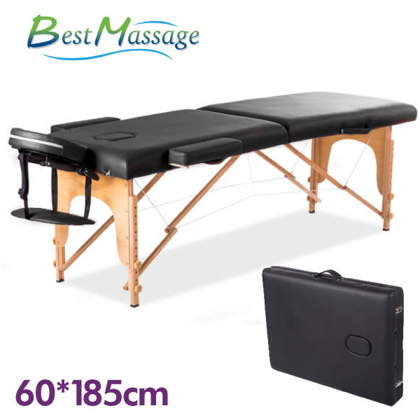 FDW【MTZ1】免運預購*美國BestMassage 60cm摺疊式 按摩床/推拿床/指壓床/美容床/推拿椅