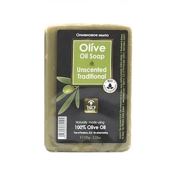 【即期品-希臘BIOESTI】頂級經典原味橄欖馬賽皂100克(1入)