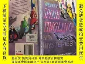 二手書博民逛書店Twenty罕見spine-tingling mini-mysteries 二十個脊椎刺痛的小秘密Y20039