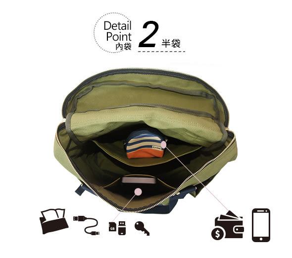 CORRE【CPM002】文青風帆布後背包