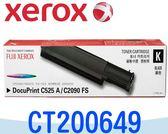 [原廠碳粉匣] Fuji Xerox 富士全錄 C525A/C2090 ~CT200649 黑色