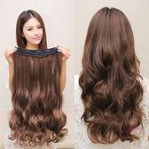 假髮片 長卷髮片假髮片 大波浪假髮片隱形一片式 長髮片假髮女無痕接髮