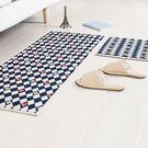 時尚創意地墊27 廚房浴室衛生間臥室床邊門廳 吸水長條防滑地毯(45cm*120cm )