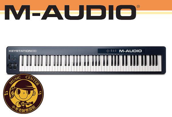 【小麥老師樂器館】M-AUDIO Keystation 88 MKII USB 主控鍵盤 MIDI 鍵盤 合成器