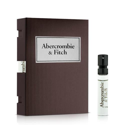 Abercrombie & Fitch 同名經典男性淡香水針管(2ml)★ZZshopping購物網★