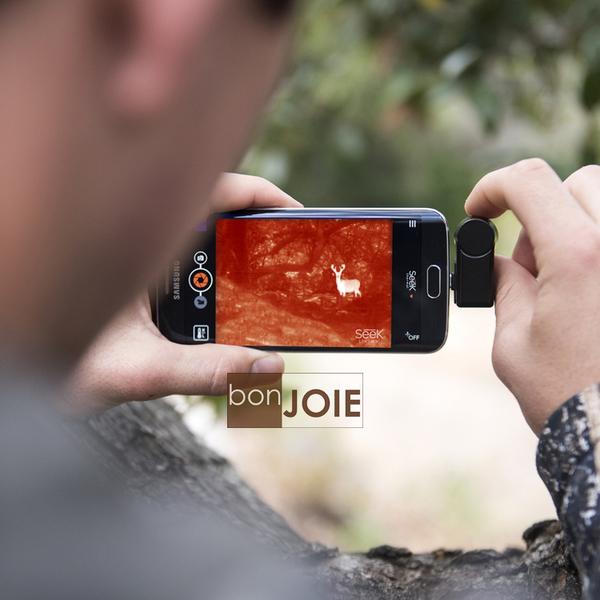 ::bonJOIE:: 美國進口 Seek CompactXR 手機專用熱感應鏡頭 Android 版 UT-AAA Extra-Range Thermal Camera Compact XR