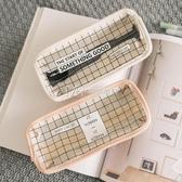 文具盒韓國簡約透明鉛筆袋創意可愛小清新文具盒女 琉璃美衣