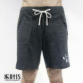 【BTIS】針織休閒短褲 /深灰色