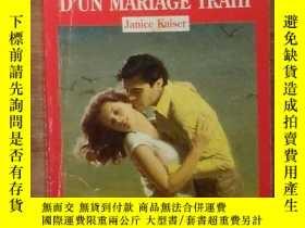 二手書博民逛書店法文原版罕見Chronique D UN Mariage Trahi by Janice Kaiser 著Y2