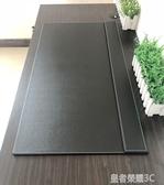 桌墊 商務辦公桌墊寫字墊板書桌墊大班台電腦滑鼠墊皮革加厚硬面超大號YTL 皇者榮耀3C