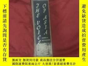 二手書博民逛書店THE罕見ⅤOⅠCE OF ASlA,51年硬精,英文原版Y17