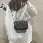 chic夏天迷你小包包女2018新款潮鍊條單肩包韓版百搭斜背小方包女