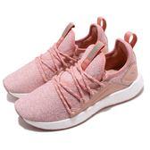 Puma 慢跑鞋 NRGY Neko Knit Wns 粉紅 白 編織鞋面 輕量避震 女鞋 運動鞋【PUMP306】 19147711
