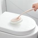 長柄刷替換百潔布 清潔刷 長柄 浴室 海綿擦 刷子 牆壁清潔刷 浴缸 【M152-1】MY COLOR