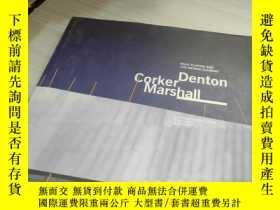 二手書博民逛書店Denton罕見Corker MarshallY241950