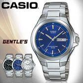CASIO手錶專賣店 卡西歐  MTP-1228D-2A 男錶 藍面  指針式 防水50米 礦物玻璃 三折不繡鋼錶帶
