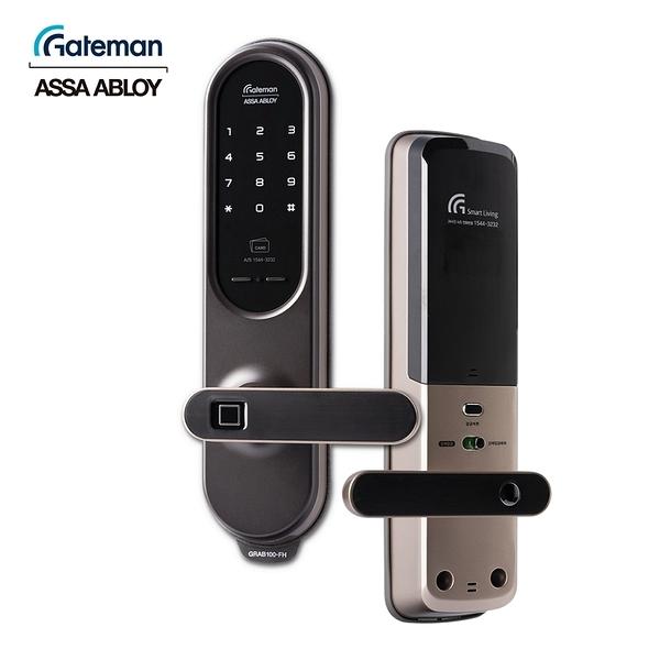 Gateman Grab100 指紋/卡片/密碼/藍芽(選購) 智能電子門鎖(附基本安裝)