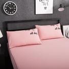 【限時下殺89折】【一對裝】純色磨毛信封枕套48x74cm全棉枕頭套學生單人枕芯套