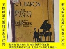 二手書博民逛書店THE罕見VIRTUOSO PIANIST 1928年出版 毛邊