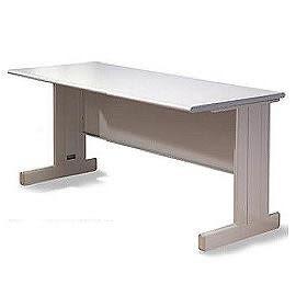 【時尚屋傢俱館】150CM 灰色辦公桌, 電腦桌(Y698-21)(免運費)(台灣製)