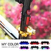 警示燈 腳踏車燈 自行車燈 頭燈 USB充電 緊急照明 露營燈 防水 衝鋒 單車警示燈【Q313】MY COLOR